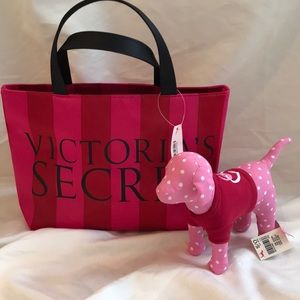 Tote Bag and Dog by Victoria's Secret & Pink